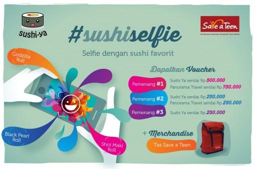 Save A Teen #SushiSelfie Quiz